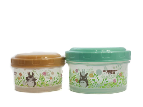 Totoro Field Round Food Container Set