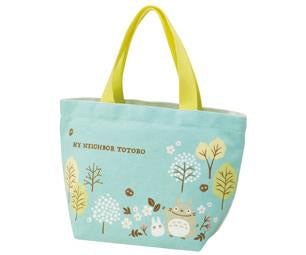 Totoro Field Canvas Lunch Bag