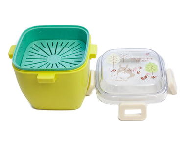 Totoro Field Salad Bento Box | 620ml by Skater - Bento&co Japanese Bento Lunch Boxes and Kitchenware Specialists