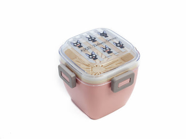 Jiji Stripes Salad Bento Box | 620ml by Skater - Bento&co Japanese Bento Lunch Boxes and Kitchenware Specialists