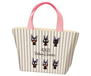 Jiji Stripes Canvas Lunch Bag by Skater - Bento&co Japanese Bento Lunch Boxes and Kitchenware Specialists
