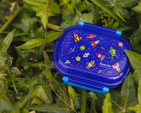 Cosmic Star Side Lock Bento Box | Oval
