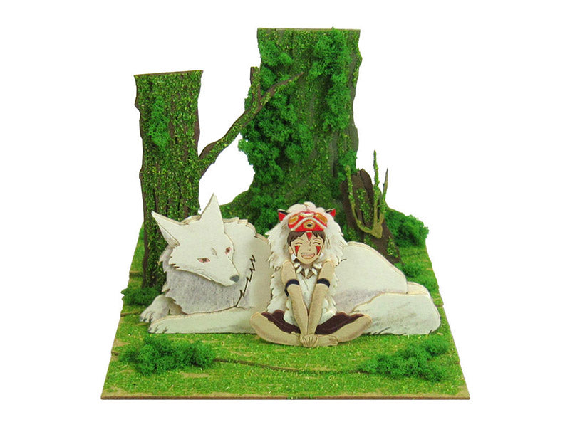 Miniatuart | Princess Mononoke : San and the wolf by Sankei - Bento&con the Bento Boxes specialist from Kyoto