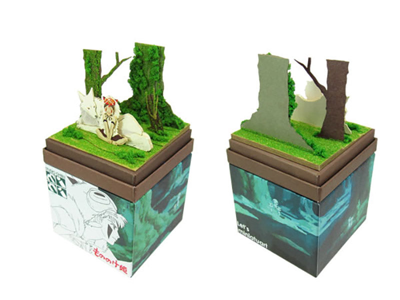 Miniatuart | Princess Mononoke: San and the Wolf by Sankei - Bento&co Japanese Bento Lunch Boxes and Kitchenware Specialists