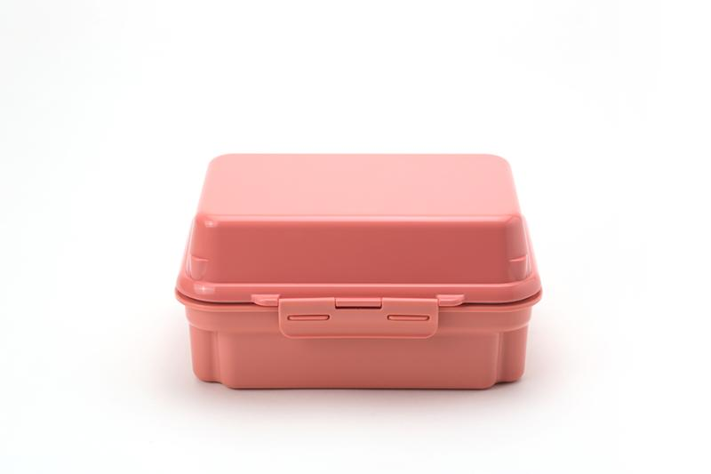 Gel-Cool Plus Deli Two Tier Bento Box | Macaroon Pink by Gel Cool - Bento&co Japanese Bento Lunch Boxes and Kitchenware Specialists