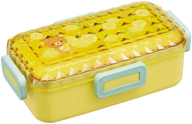 Rilakkuma Side Lock Bento Box 530ml | Lemon by Skater - Bento&co Japanese Bento Lunch Boxes and Kitchenware Specialists