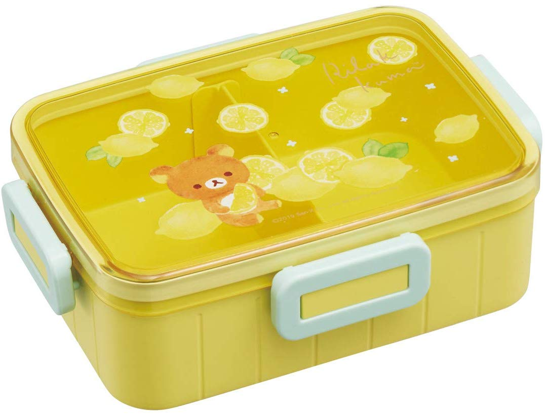 Rilakkuma Bento Box 650ml | Lemon by Skater - Bento&co Japanese Bento Lunch Boxes and Kitchenware Specialists