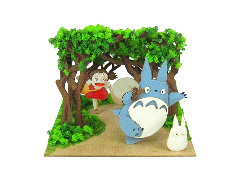 Miniatuart | My Neighbor : Totoro The secret tunnel by Sankei - Bento&co Japanese Bento Lunch Boxes and Kitchenware Specialists