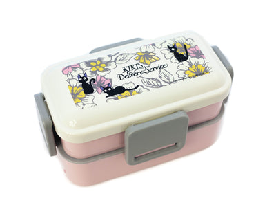 Jiji Elegance Two Tier Side Lock Bento Box 600ml by Skater - Bento&co Japanese Bento Lunch Boxes and Kitchenware Specialists