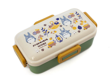 Totoro Harvest Side Lock Bento Box 530ml by Skater - Bento&co Japanese Bento Lunch Boxes and Kitchenware Specialists