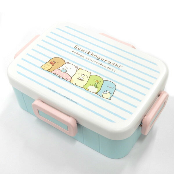 Sumikko Gurashi Side Lock Bento Box 650ml | Stripes