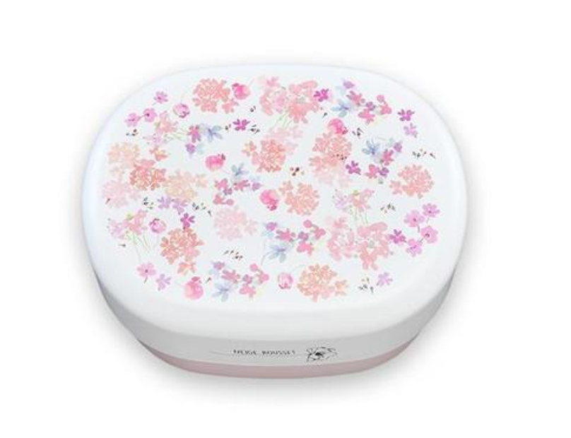 Spring Bouquet Oval Bento Box | Rhododendron by Takenaka - Bento&co Japanese Bento Lunch Boxes and Kitchenware Specialists