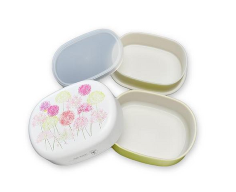 Spring Bouquet Oval Bento Box | Lily of the Nile