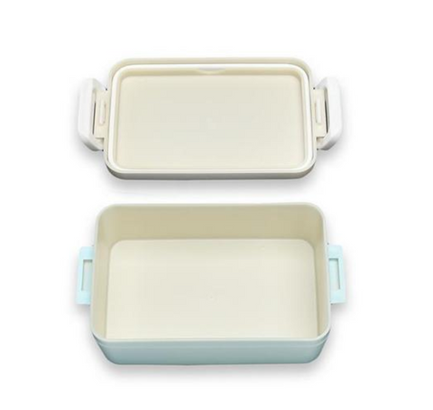 Spring Bouquet Square Bento Box | Hydrangea by Takenaka - Bento&co Japanese Bento Lunch Boxes and Kitchenware Specialists