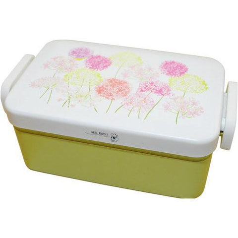 Spring Bouquet Square Bento Box | Lily of the Nile