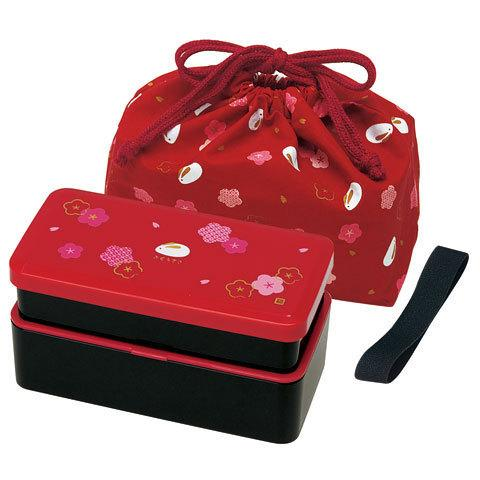 Fuku Usagi Bento Box | Red by Skater - Bento&co Japanese Bento Lunch Boxes and Kitchenware Specialists