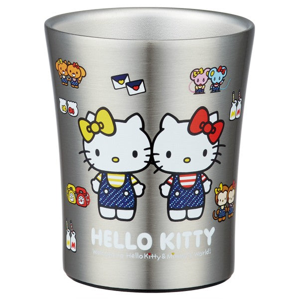 Hello Kitty Stainless Steel Cup | Small by Skater - Bento&co Japanese Bento Lunch Boxes and Kitchenware Specialists