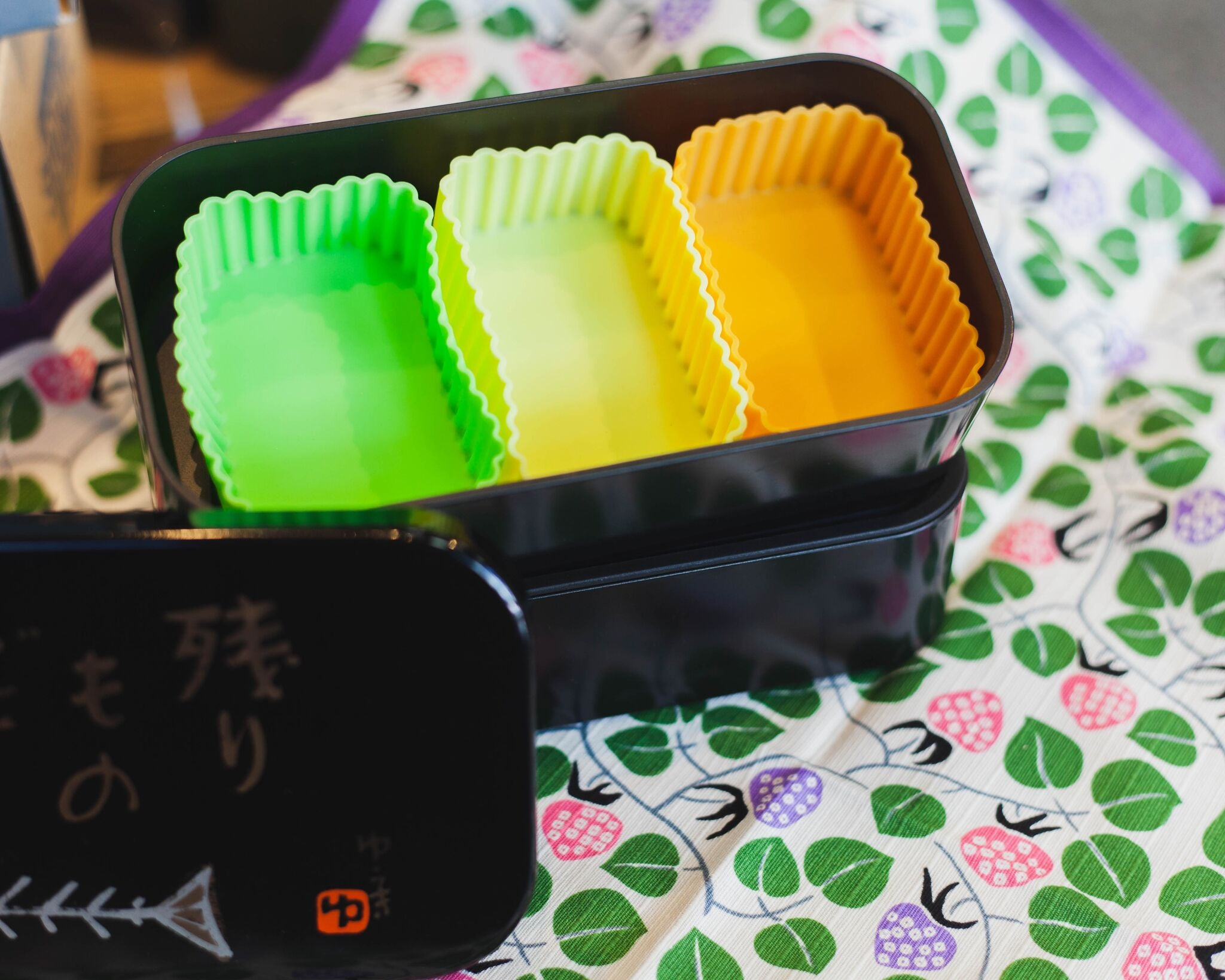 Silicone Rectangle Cup | Yellow by Hakoya - Bento&co Japanese Bento Lunch Boxes and Kitchenware Specialists