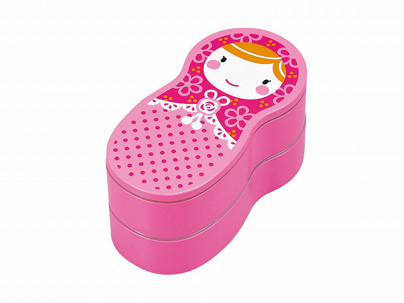 Matryoshka Bento | Pink by Hakoya - Bento&co Japanese Bento Lunch Boxes and Kitchenware Specialists