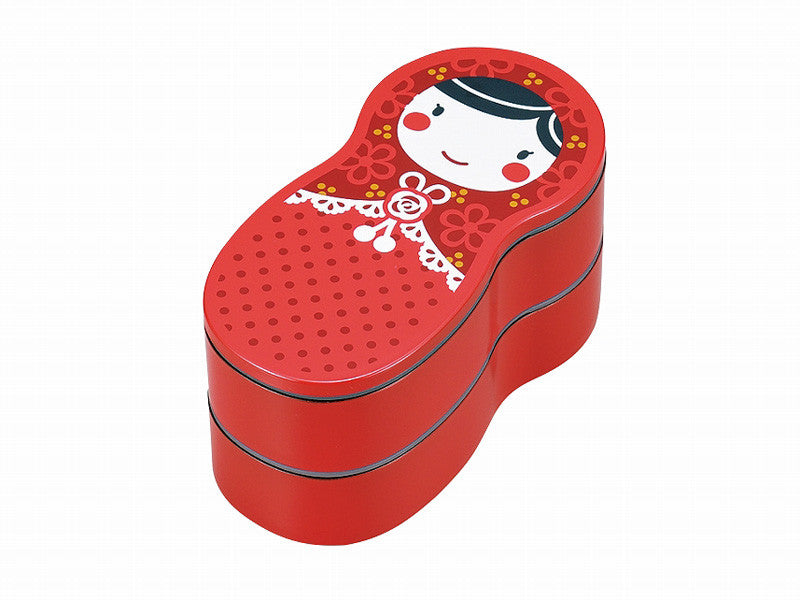 Matryoshka Bento | Red by Hakoya - Bento&co Japanese Bento Lunch Boxes and Kitchenware Specialists