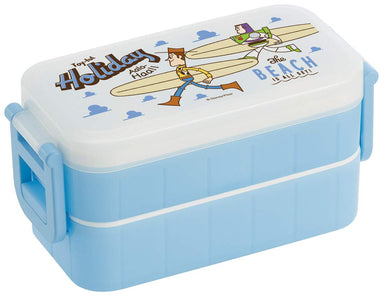 Keep Cool Two Tier Lunch Box | Surf Style Toy Story by Skater - Bento&co Japanese Bento Lunch Boxes and Kitchenware Specialists