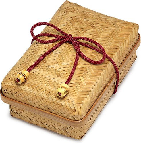 Weaved Bamboo Bento Box | Medium