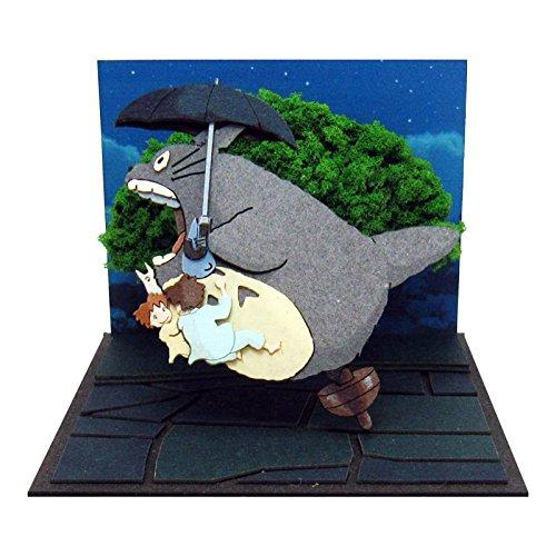 Miniatuart | My Neighbor Totoro : Sightseeing Flight with Totoro