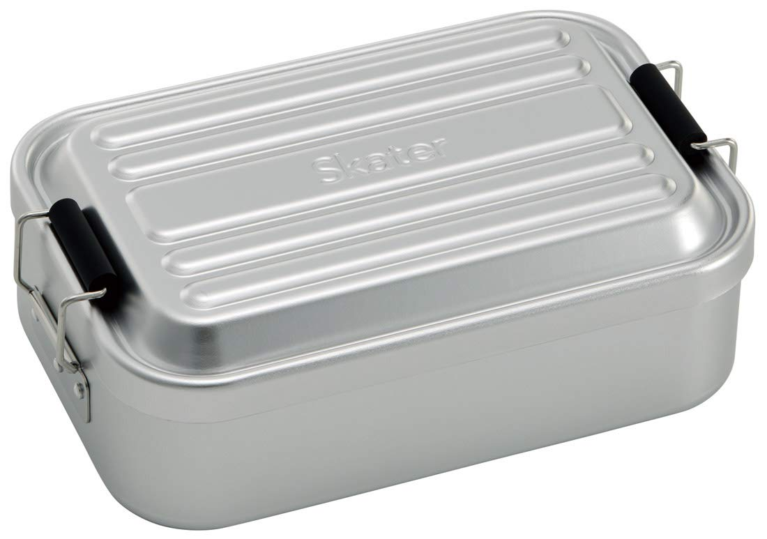 Aluminum Bento Lunch Box 1000ml | Silver by Skater - Bento&co Japanese Bento Lunch Boxes and Kitchenware Specialists