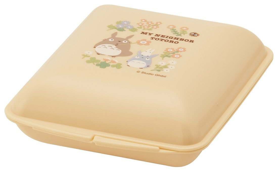 Totoro Flower Lunch Container by Skater - Bento&co Japanese Bento Lunch Boxes and Kitchenware Specialists