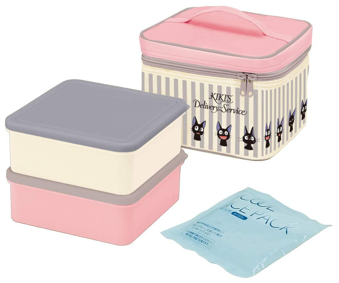 Jiji Stripes Picnic Set by Skater - Bento&co Japanese Bento Lunch Boxes and Kitchenware Specialists