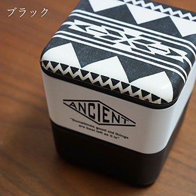 Ancient Square Nest Urban Native (Black) by Showa - Bento&co Japanese Bento Lunch Boxes and Kitchenware Specialists
