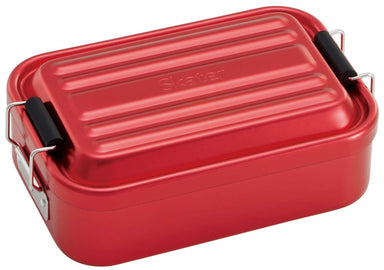 Aluminum Bento Lunch Box 600ml | Red by Skater - Bento&co Japanese Bento Lunch Boxes and Kitchenware Specialists