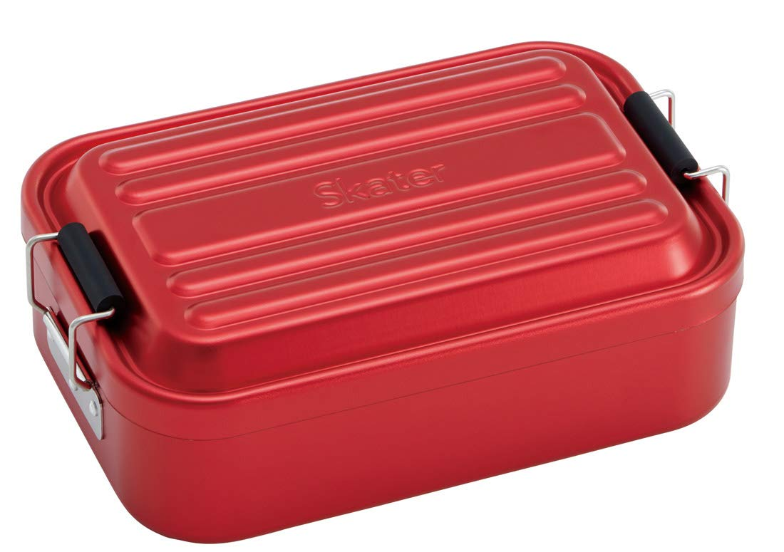 Aluminum Bento Lunch Box 850ml | Red by Skater - Bento&co Japanese Bento Lunch Boxes and Kitchenware Specialists