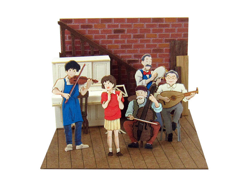 Miniatuart | Whisper of the Heart : playing music by Sankei - Bento&co Japanese Bento Lunch Boxes and Kitchenware Specialists
