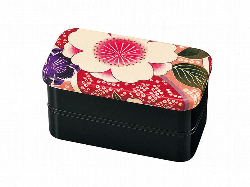 Kimono Bento | Pink Medium by Hakoya - Bento&con the Bento Boxes specialist from Kyoto