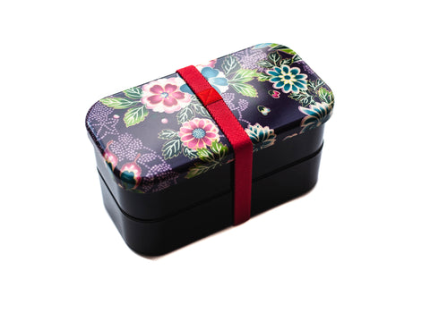 Kimono Bento | Murasaki Large by Bento&co - Bento&co Japanese Bento Lunch Boxes and Kitchenware Specialists