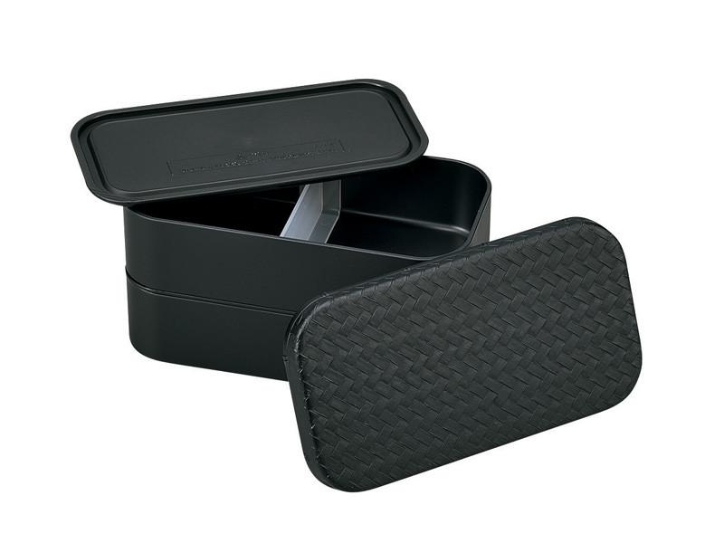 Nuri Ajiro Rectangle Bento Box Large | Black by Hakoya - Bento&co Japanese Bento Lunch Boxes and Kitchenware Specialists