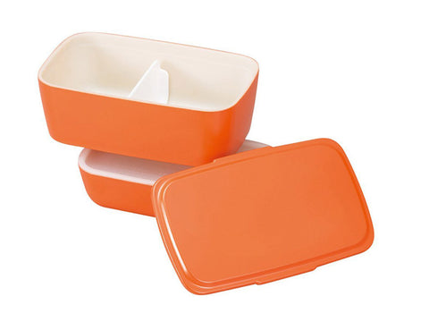 Cool-Bento 2-stack Lunch Box | Moon Grey by Hakoya - Bento&con the Bento Boxes specialist from Kyoto