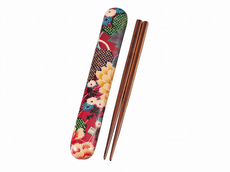 Kimono Chopsticks Set | Rose by Hakoya - Bento&con the Bento Boxes specialist from Kyoto