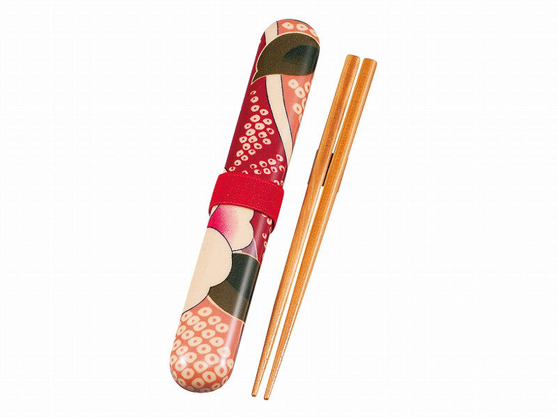 Kimono Chopsticks Set | Pink by Hakoya - Bento&con the Bento Boxes specialist from Kyoto