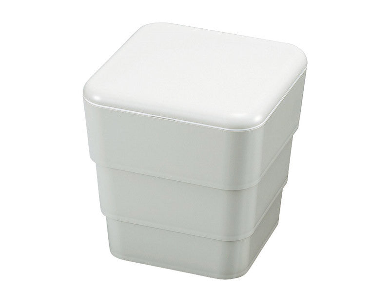 Cool Bento 3-stack Lunch Box | Moon Grey by Hakoya - Bento&con the Bento Boxes specialist from Kyoto