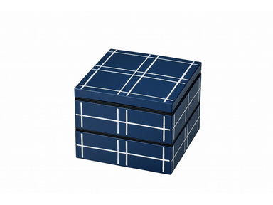Some Mon Square Lunch Mizu Indigo by Hakoya - Bento&co Japanese Bento Lunch Boxes and Kitchenware Specialists