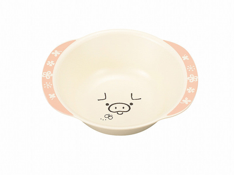 Tomodachi Kids Bowl | Pig by Hakoya - Bento&co Japanese Bento Lunch Boxes and Kitchenware Specialists