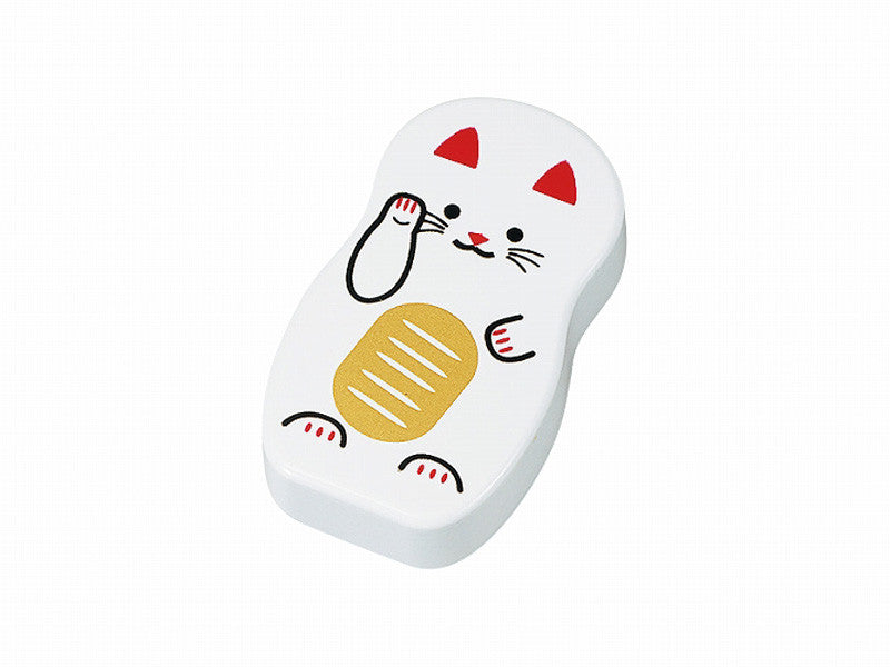 Kokeshi Magnet | White Cat by Hakoya - Bento&con the Bento Boxes specialist from Kyoto
