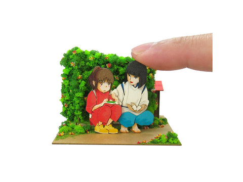 Miniatuart | Sen and Chihiro's Spiriting Away : Haku's rice bowl by Sankei - Bento&con the Bento Boxes specialist from Kyoto
