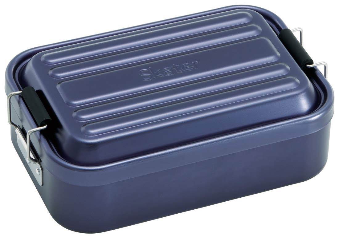 Aluminum Bento Lunch Box 600ml | Navy by Skater - Bento&co Japanese Bento Lunch Boxes and Kitchenware Specialists