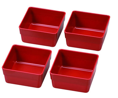 inner compartement Red by Hakoya - Bento&co Japanese Bento Lunch Boxes and Kitchenware Specialists