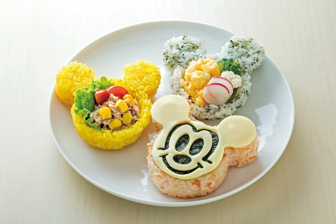 Rice Mold | Mickey Mouse by Skater - Bento&co Japanese Bento Lunch Boxes and Kitchenware Specialists
