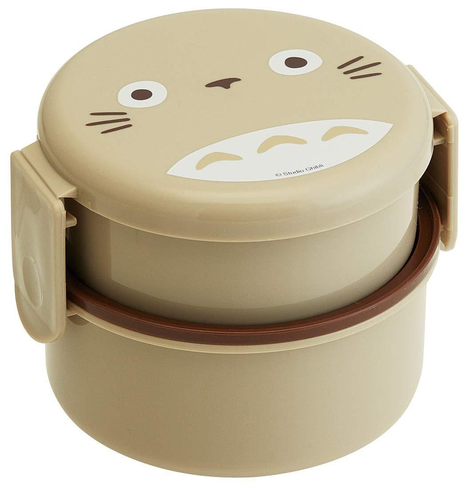 Totoro Round Lunch Box by Skater - Bento&co Japanese Bento Lunch Boxes and Kitchenware Specialists