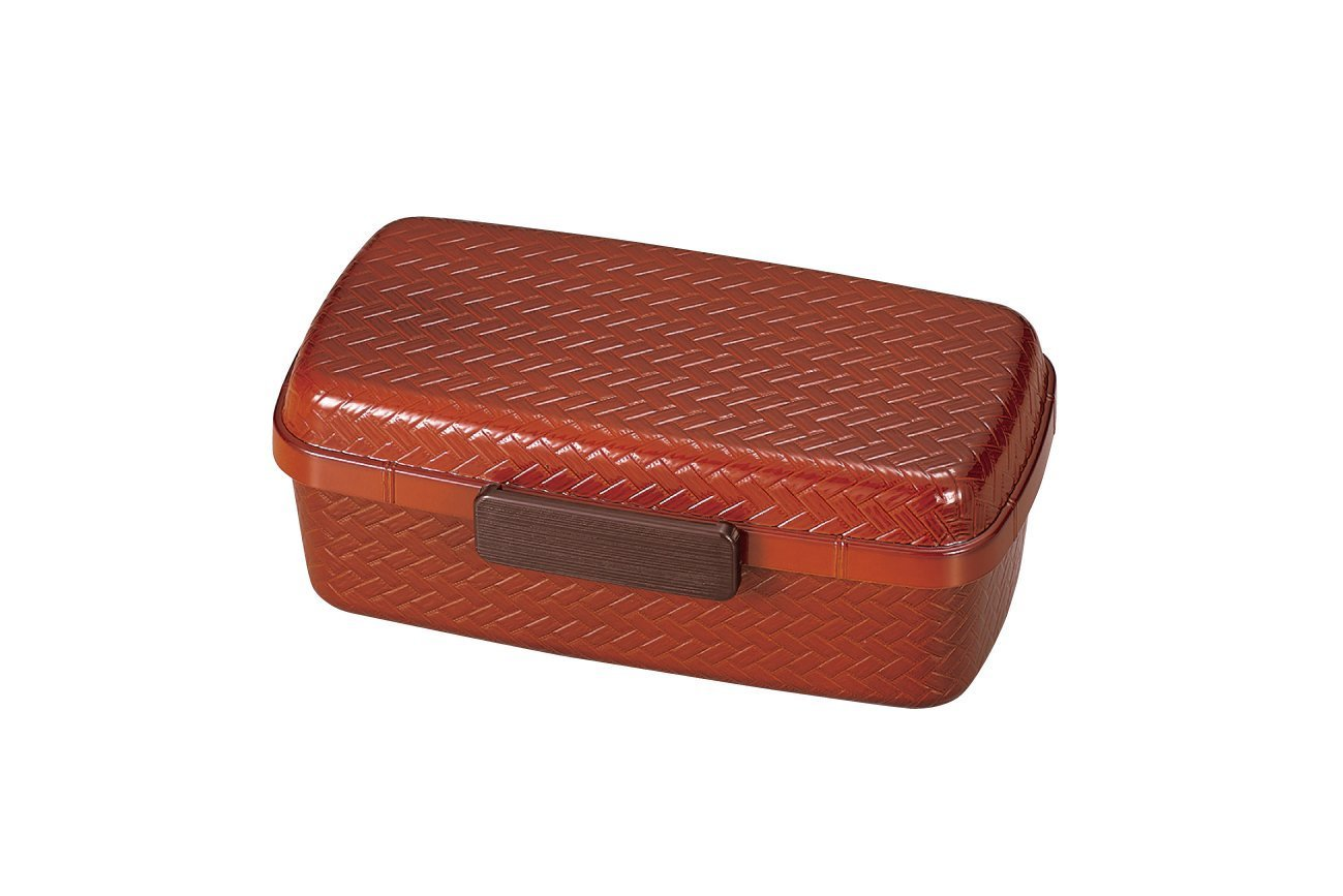 Ajiro Bento Box 800ml Light Brown by Hakoya - Bento&con the Bento Boxes specialist from Kyoto